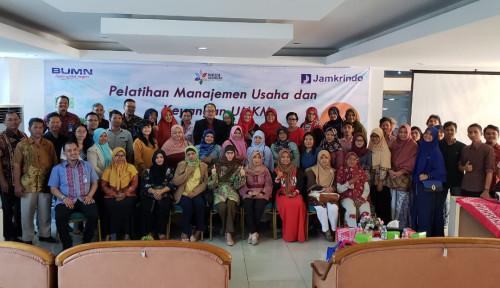 Foto Berdayakan UMKM, Jamkrindo Langsungkan Pendataan dan Pelatihan di6 Kota