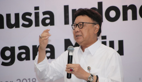 Foto Tanggapan Tjahjo Kumolo Soal Indonesia Bubar, 'Mantap'