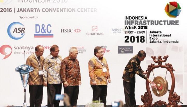 Foto Berita Tarsus Hadirkan Pesta Infrastruktur Lewat Indonesia Infrastructure Week 2018