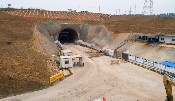 Mesin Bor Raksasa Rampung Dirakit, Konstruksi Terowongan Kereta Cepat Segera Dimulai - Warta Ekonomi