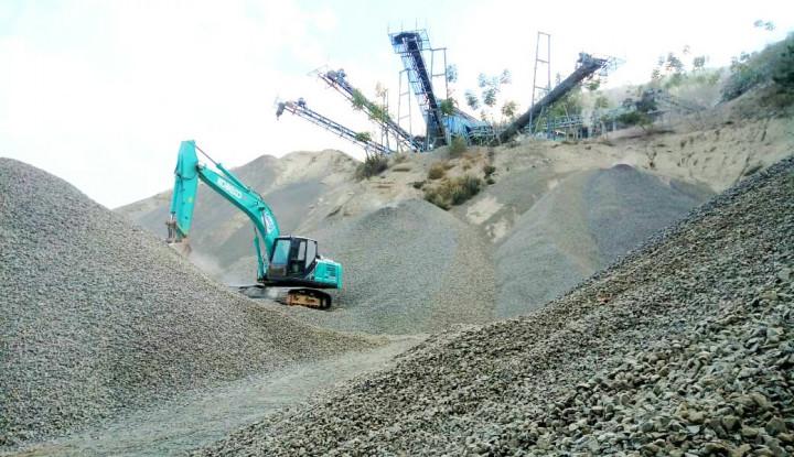 Foto Berita Crushing Plant Milik Wika Beton di Donggala Kembali Aktif