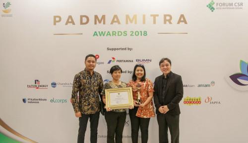 Foto Sampoerna Raih Penghargaan Padmamitra Awards 2018