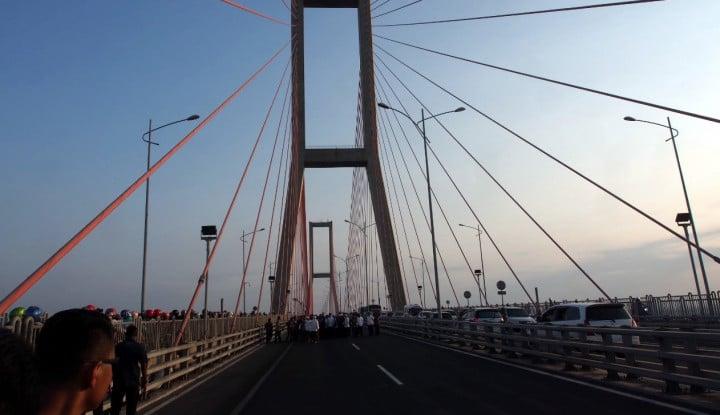 Penyebar Hoaks Jembatan Suramadu Bakal Dilaporkan - Warta Ekonomi