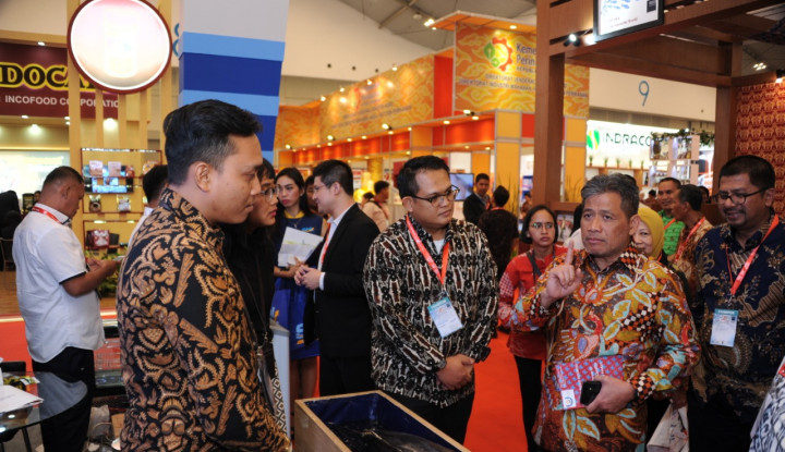 Foto Berita Tingkatkan Investasi Sektor Kelautan dan Perikanan, KKP Ikut Andil dalam Pameran TEI 2018