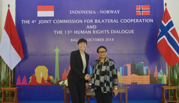 Foto Berita Indonesia-Norwegia Kerja Sama Tingkatkan Perdagangan Investasi