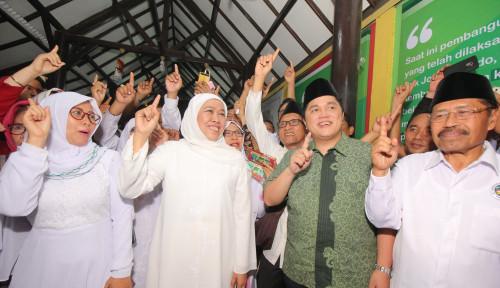 Foto Pesan Erick pada Kiai dan Santri: Jangan Takut Sebarkan Informasi Keberhasilan Jokowi