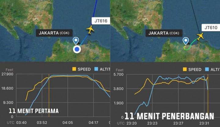 Foto Berita Masyarakat Diskusikan Kondisi Penerbangan Lion Air JT 610 Lewat Aplikasi FlightRadar24