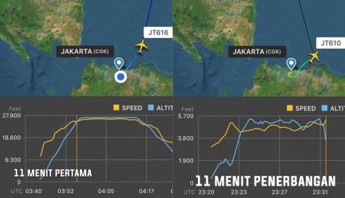 Foto Terkuak, Lion Air JT 610 Sempat Alami Gangguan Teknis