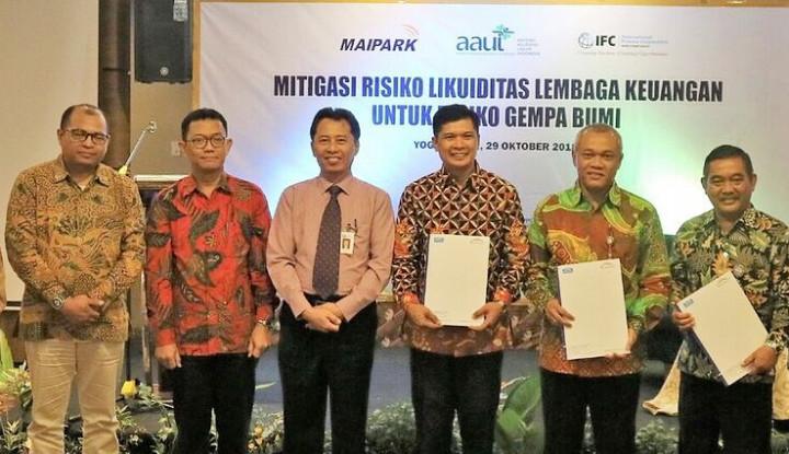 Foto Berita IFC dan Maipark Asuransikan BPR di Daerah Rawan Bencana