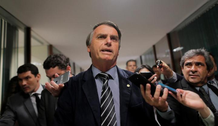 Foto Berita Belum Dilantik, Presiden Terpilih Brasil Jalani Operasi Serius