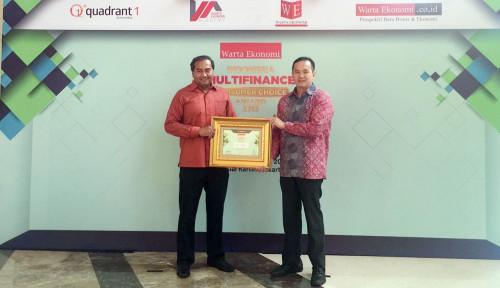 Foto CNAF Sabet Penghargaan Indonesia Multifinance Consumer Choice Award 2018
