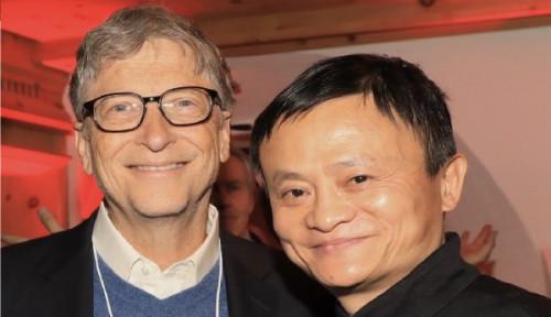 Foto Kebencian Terhadap Bill Gates Menjadi Awal Kesuksesan dari Seorang Jack Ma