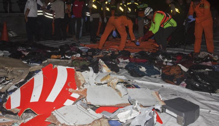 Foto Berita 92 Kantong Jenazah Korban Lion Air Masuk RS Polri