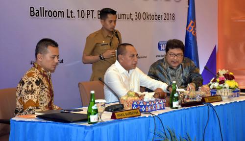 Foto Gubernur Edy Tolak Pengunduran Diri Dirut Bank Sumut, Alasannya...