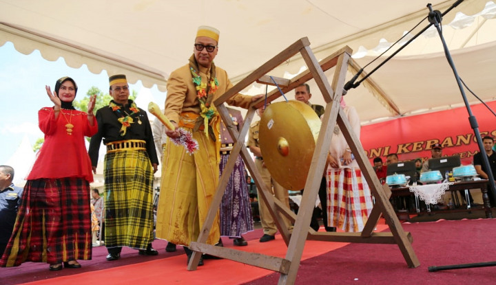Foto Berita Mensos Hadir dalam Acara Harmoni Kebangsaan di Masamba