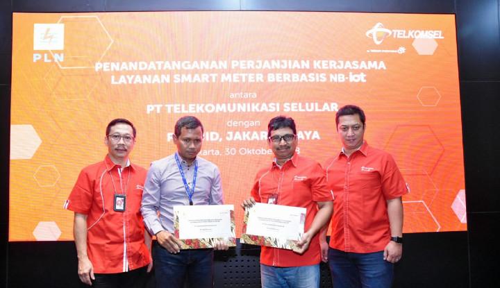 Foto Berita Telkomsel-PLN Disjaya Kerja Sama Implementasikan Teknologi NB-IoT