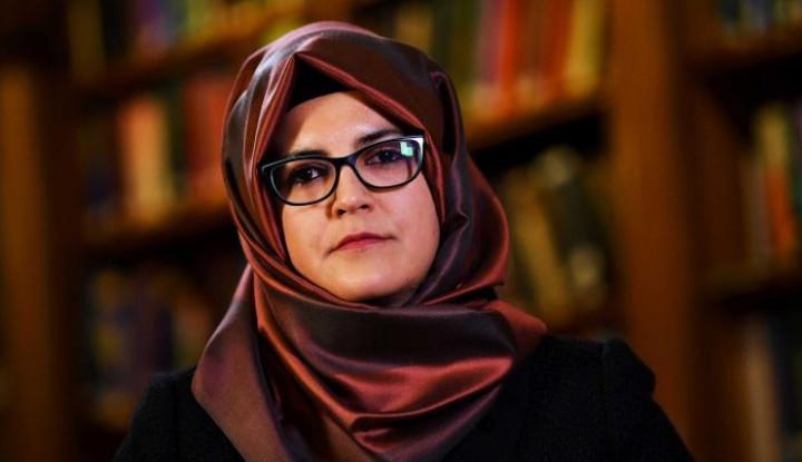 Foto Berita Hatice Cengiz, Tunangan Khashoggi Tuntut Saudi atas Kematian Kekasihnya