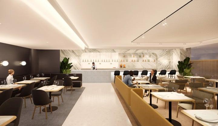 Foto Berita First Lounge Qantas Hadir di Bandara Changi Singapura