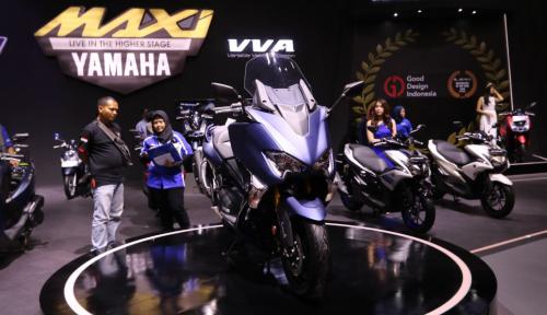 Foto Yamaha Pimpin Ekspor Motor Indonesia 56,3%