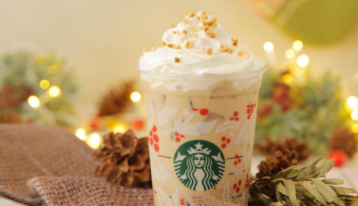 Foto Berita Starbucks Hadirkan Desain Terbaru Red Cup Hingga Varian Minuman Musim Liburan