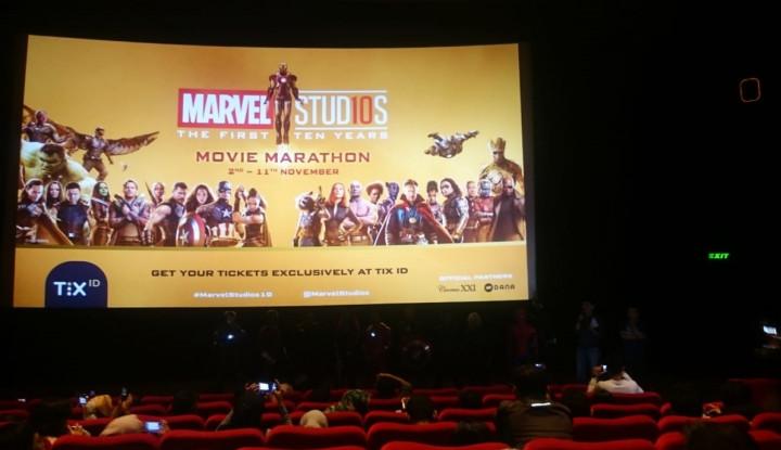 Foto Berita Rayakan 10 Tahun MCU, Tix.id dan Dana Inisiasi Pemutaran Film-film Marvel Studios