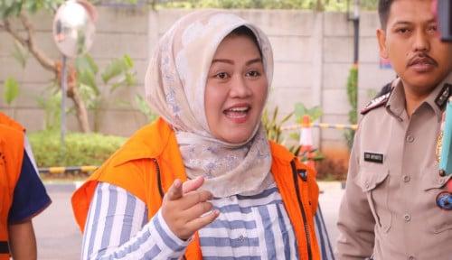 Foto Neneng Resmi Mengundurkan Diri sebagai Bupati Bekasi
