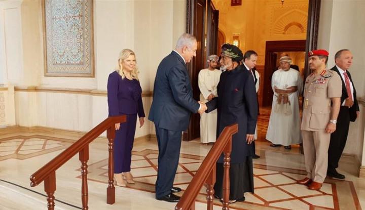 Netanyahu Kunjungi Oman, Israel Mulai Rapatkan Barisan ke Uni Emirat Arab?