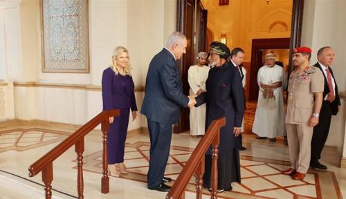 Foto Netanyahu Kunjungi Oman, Israel Mulai Rapatkan Barisan ke Uni Emirat Arab?