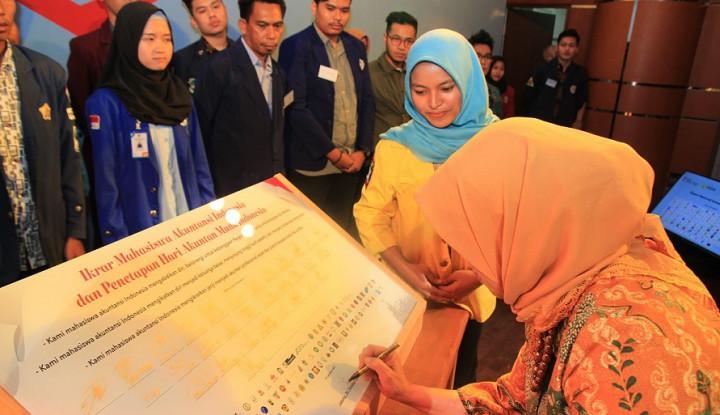 Foto Berita Resmi Dideklarasikan, 26 Oktober Jadi Hari Akuntan Muda Indonesia