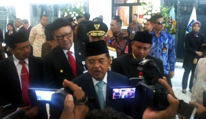 kata jk: pertemuan prabowo-jokowi, damaikan politik bangsa