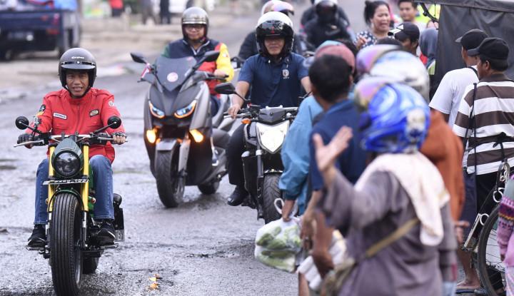 Foto Berita Jokowi: Melawan Petahana Tak Mudah, Sindir Prabowo?