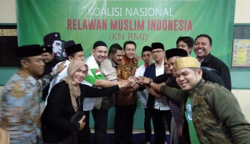 Foto Relawan Jokowi-Ma'ruf Dirikan Posko Koalisi Nasional Relawan Muslim Indonesia