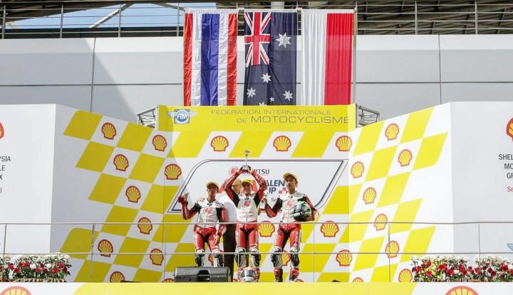 Foto Berita Dua Pembalap Indonesia Berhasil Raih Podium ATC di Sirkuit Sepang