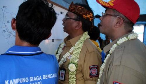 Foto Kemensos Jadikan Cimanintin Kampung Siaga Bencana ke 628