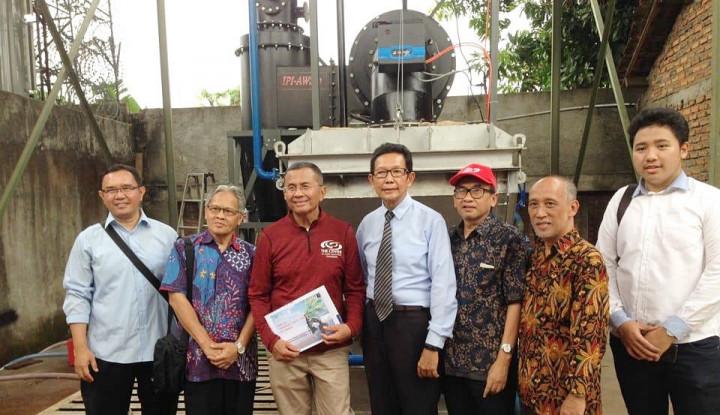 Foto Berita IPI AWS, Ubah Sampah Jadi Sumber Energi Alternatif