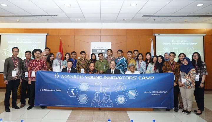 Foto Berita Majukan Sistem Kesehatan, Novartis Gelar Novartis Young Innovators' Camp