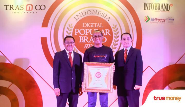 Foto Berita TrueMoney Raih Indonesia Digital Popular Brand Award 2018