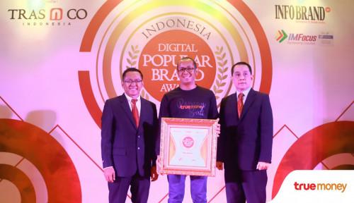 Foto TrueMoney Raih Indonesia Digital Popular Brand Award 2018