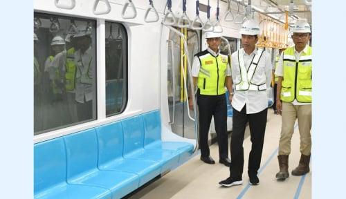 Foto Jokowi: Pembangunan Inftrastruktur Untuk Kebutuhan Masyarakat