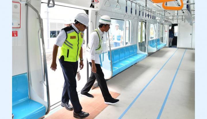 Foto Berita Tarif MRT Harus Kompetitif