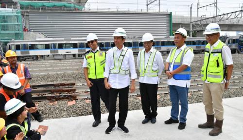Foto Jokowi Bantah Pernyataan Prabowo Soal Pembangunan Infrastruktur