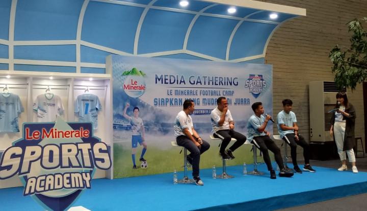 Foto Berita Le Minerale Football Camp Siapkan Pesepak Bola Muda Jadi Juara Nasionaldan Internasional