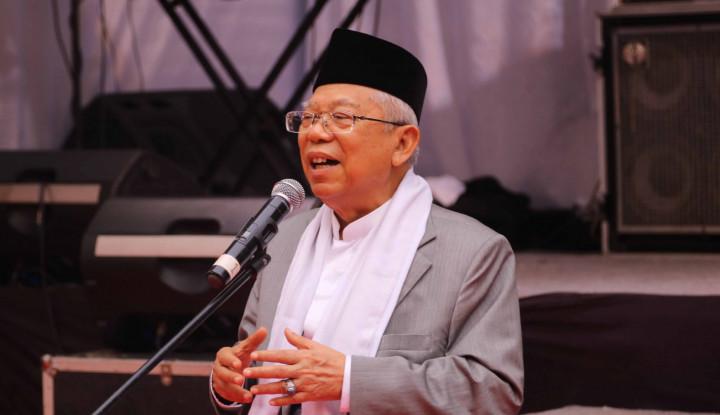 Waduh, Ma'ruf Amin Pakai Tausiah di Debat Ketiga - Warta Ekonomi