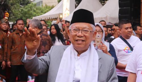 Foto Dibilang Kelewat Uzur, Ma'ruf Amin Kasih Contoh PM Malaysia