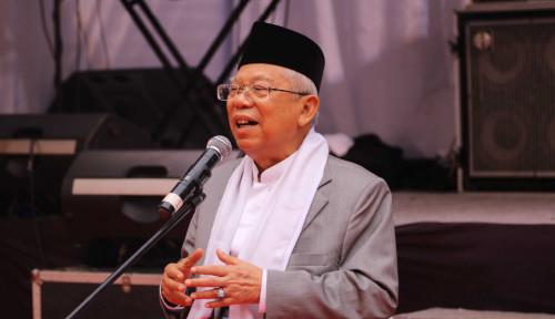 Kiai Ma'ruf Sentil Lagi Prabowo