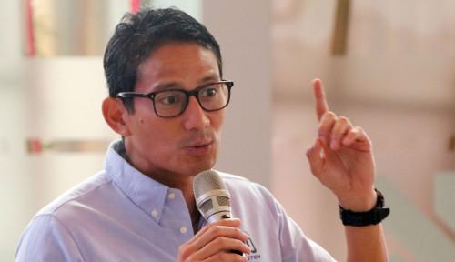 Foto Sandiaga Beberkan Janji Gerindra ke Demokrat