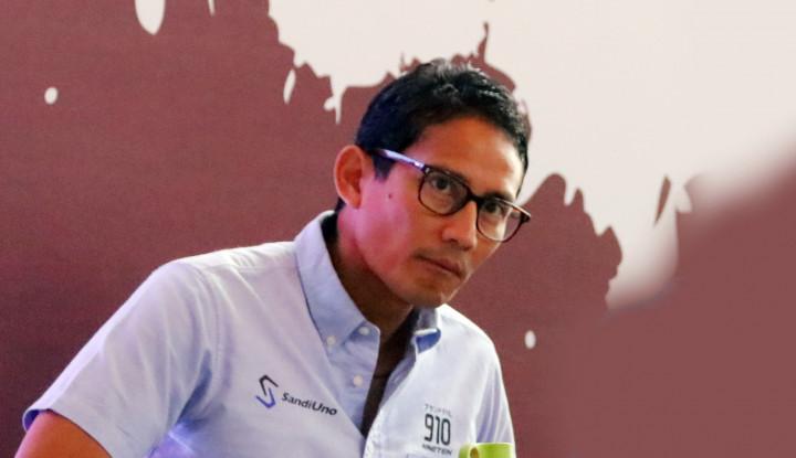 Jokowi Pidato Pimpin Negara Jangan Coba-coba, Sandiaga Terheran-heran - Warta Ekonomi