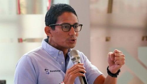 Foto Sandiaga Ucapkan Terima Kasih ke CEO Bukalapak, Karena Cuitannya?