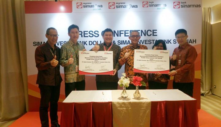Foto Berita Bank Sinarmas Gandeng Asuransi Simas Jiwa Luncurkan Produk Bancassurance