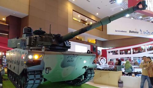 Wih Keren Nih... Produk BUMN Industri Pertahanan Indonesia Mejeng di Abu Dhabi